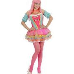 "RAINBOW FANTASY GIRL"" (corset, tutu, chok... 49481 W"