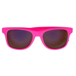 """""""80's PINK GLASSES WITH REVO LENSES"""" 0321D W"""