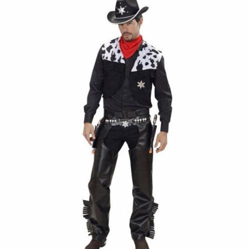"""COWBOY"" (vest, chaps, belt, bandana) (76031)"