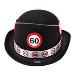 Bowler Hat Non Woven Traffic Sign 60 F 62360