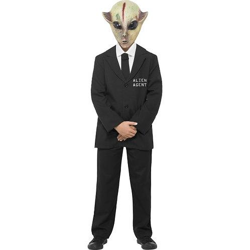 Alien Agent Costume SKU: 24381