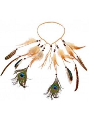 Indian Feather Headband. 03356 W