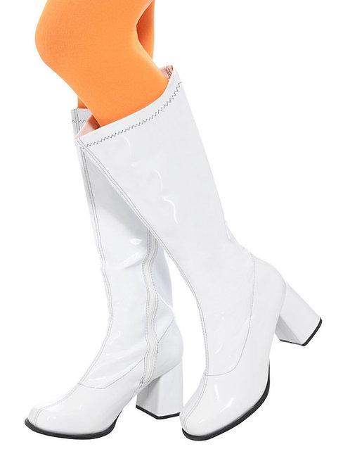 """60's Ladies GoGo Boots, 3"""" Heel w/zipper 48061 S"""