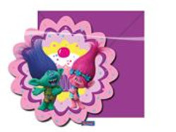Invitations Trolls/6 F 87019