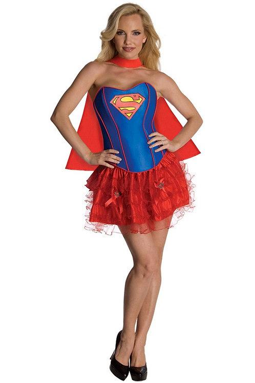 Supergirl Corset Dress