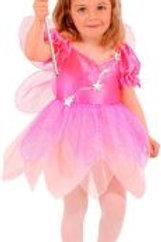 """""""PINK FAIRY"""" (dress, wings) 4929P W"""