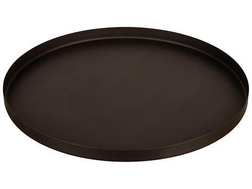 Lysfat brett rundt metall sort d:39cm Varenr:115219