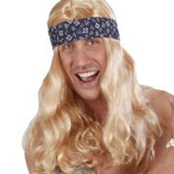 """CALIFORNIA DREAMING WIG WITH HEADBAND"""" in... D0674 W"""