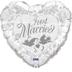 Jum Just Married Pearl White/stk F 82425