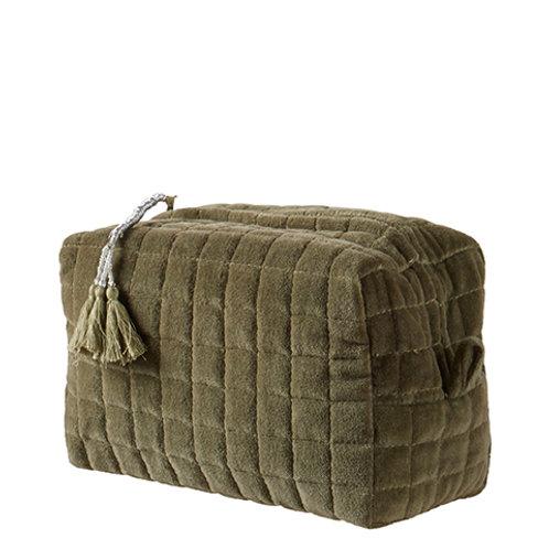 TOULOUSE Toiletry bag L green 21x13xH13 cm 070-376-10