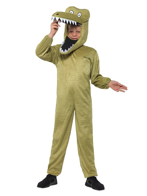 Child Enormous Crocodile Roald Dahl Costume. 41541 Smiffys