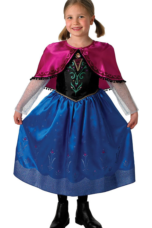 ANNA DELUXE COSTUME – CHILDRENS. 889545 RUBIES