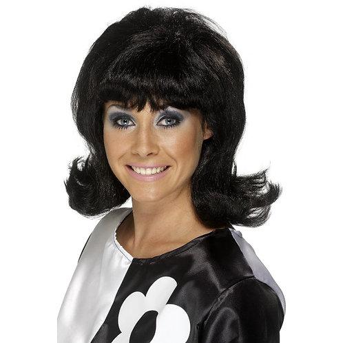60'S Flick-Up Wig,Black