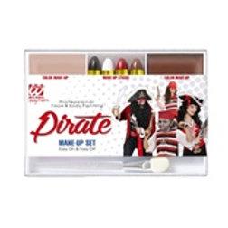 """""""PIRATE MAKEUP SET"""" (4 makeup sticks, skin...) 02413 W"""