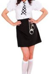 """BRITISH POLICE OFFICER"" (shirt, skirt, ti... 77391 W"