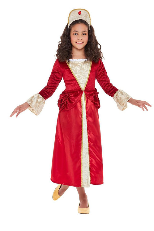 Tudor Princess Costume. 47747 Smiffys