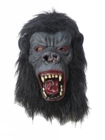 Lateks maske - Gorilla