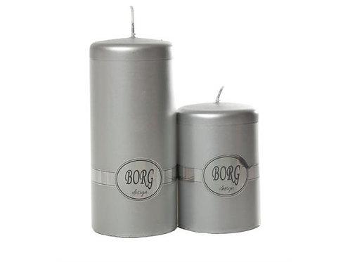 Kubbelys 7X10Cm 28 Sølv Metallic