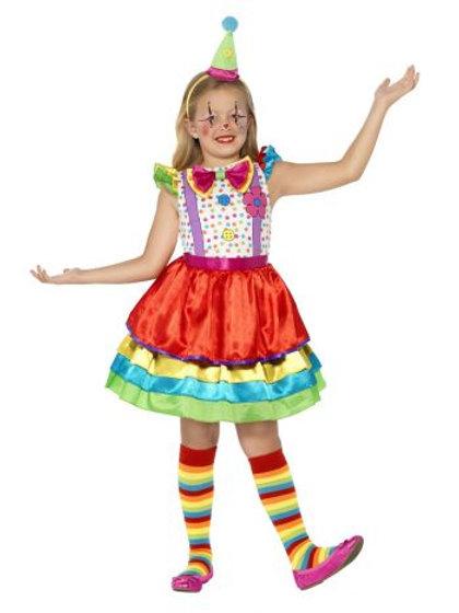 Deluxe Clown Girl Costume 45250 S
