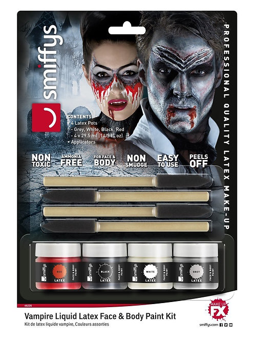 Vampire Liquid Latex Kit. 46226 Smiffys