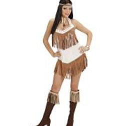 "INDIAN"" (dress, headband) 77123 W"
