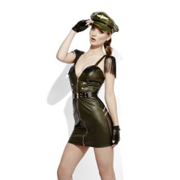 Fever Miss Behave Military Chief Costume 43497 S