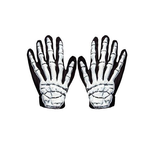 3d Skeleton Gloves/Pair. AC-9057 Wicked