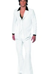 1970'S Suit Costume, White 39427 S