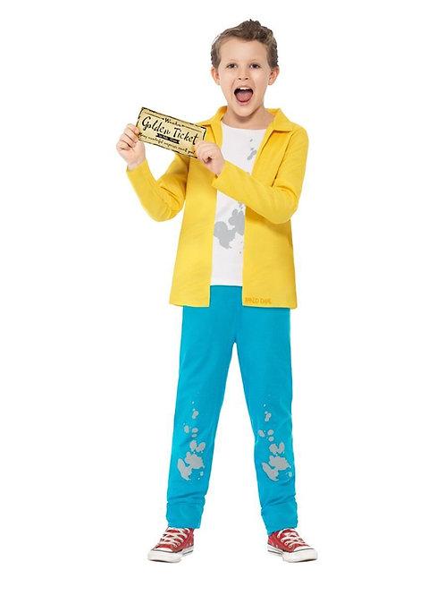 Child Roald Dahl Charlie Bucket Costume. 27142 Smiffys