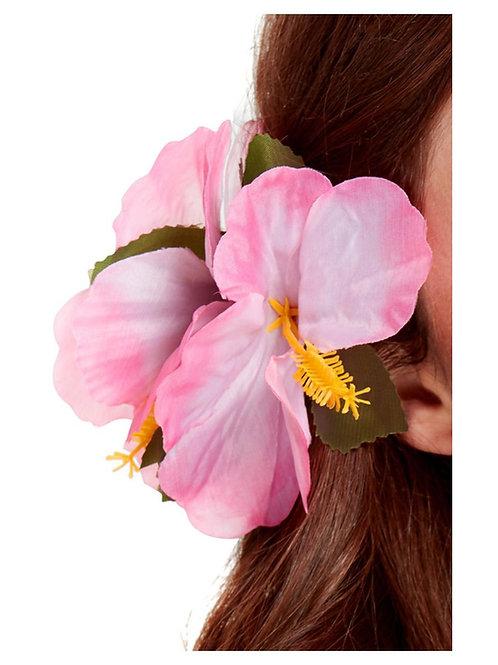 Hawaiian Flower Hair Clip. Pink. 21738 S
