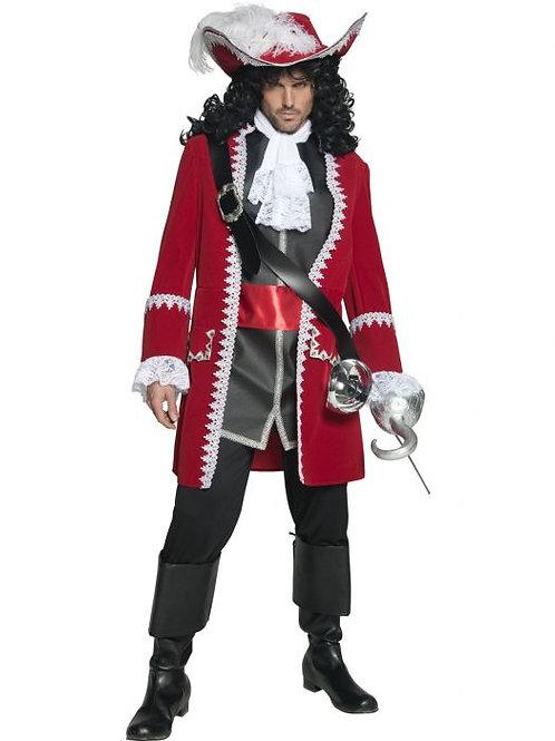 Authentic Pirate Captain Costume. 36174 Smiffys