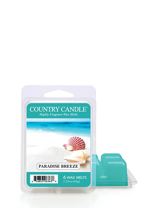 Country Candle Wax Melts Paradise Breeze