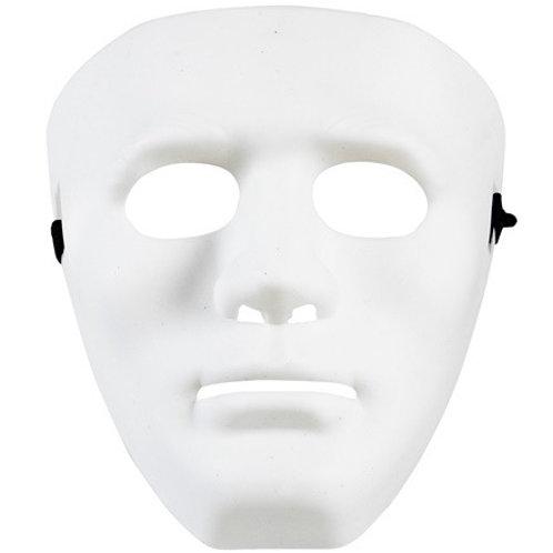 WHITE ANONYMOUS MASK. 00851 Widmann