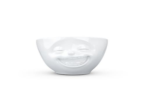 """Tassen skål 350ml """"Fliring m/ åpen munn"""" Hvit, 350ml"""