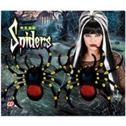 """2 NEON SPIDERS"" 10 cm. 8254D W"