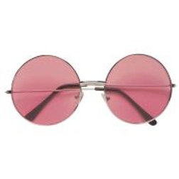 """70s GLASSES WITH PINK LENSES"""" 68625S W"""