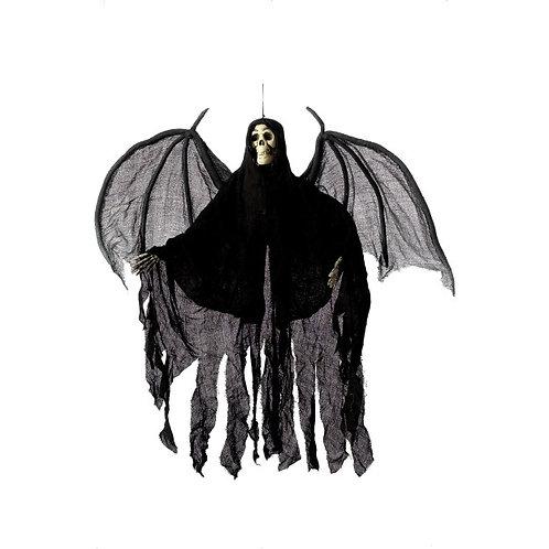 Hanging Skeleton Angel Decoration, Black SKU: 36044