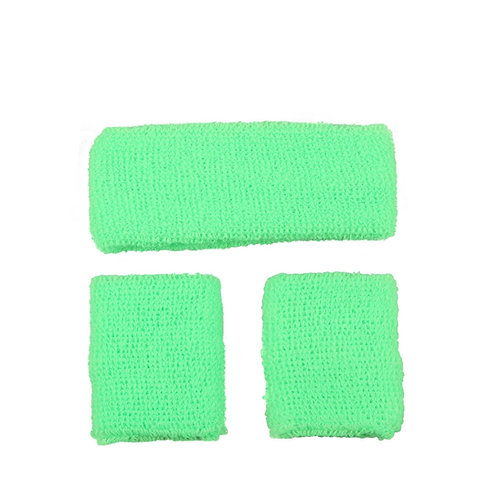 80's Sweatband & Wristbands AC-9333 W