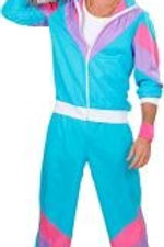 """THE 80s SHELL SUIT"""" (jacket, pants). 98871 W"""