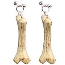 Bones Earrings. 1650B W