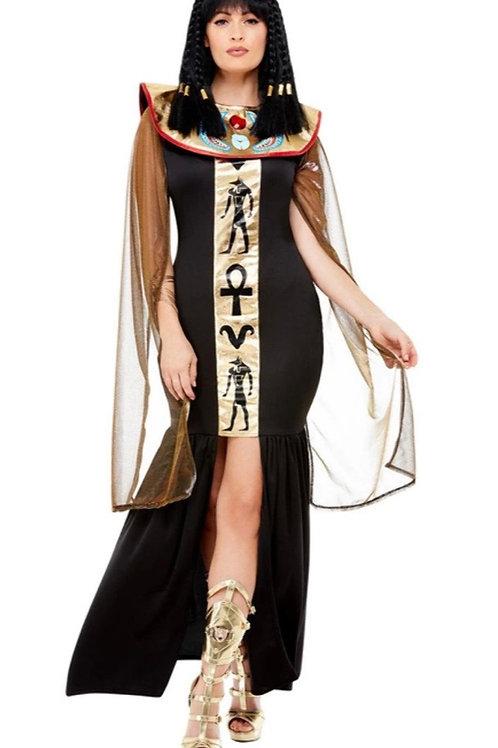 Black Egyptian Goddess Costume. 70026 Smiffys