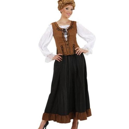 """PEASANT GIRL"" (shirt, corset, skirt) (89571)"