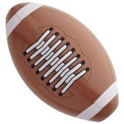 """INFLATABLE AMERICAN FOOTBALLS"" 36cm W 1856A"