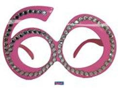 Glasses 60 Pink Diamondframe F 00754