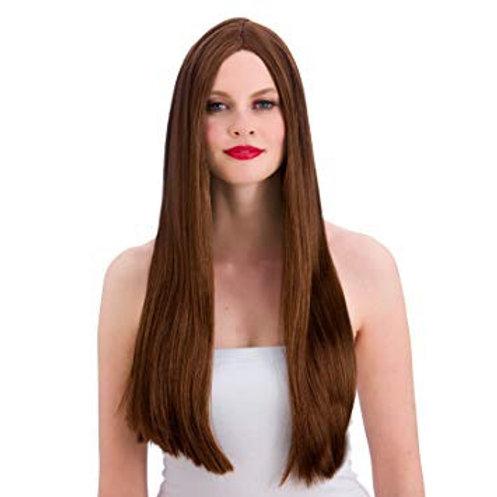 Classic Long Brown Wig EW-8002 W