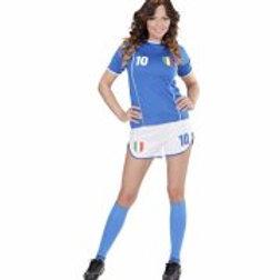 "ITALY SOCCER GIRL"" (shirt, shorts) 97951 W"
