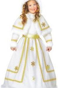 """SNOW PRINCESS"" (dress with wire hoop, bel... 34799 W"