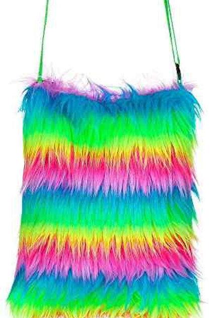 Plush Handbag. 09817 W