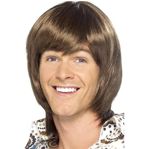70'S Heartthrob Wig,Brun. 43241 S