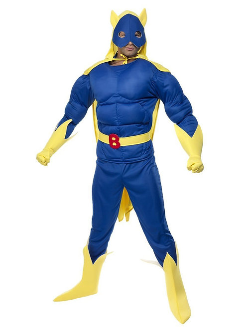 Bananaman Padded Costume. 28082 Smiffys